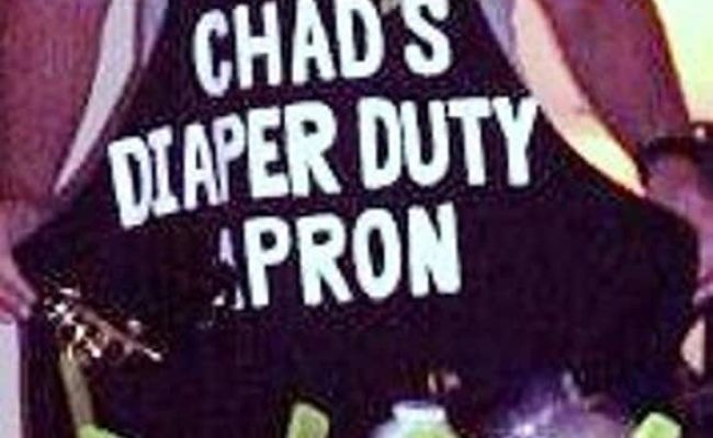 Personalized Daddy Diaper Apron Personalized Novelty Apron