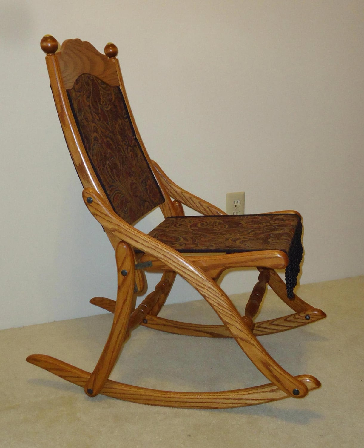 Rocky Chair Civil War Folding Rocking Chair