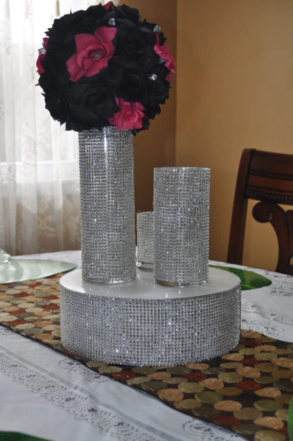 Bling Wedding Table Centerpieces