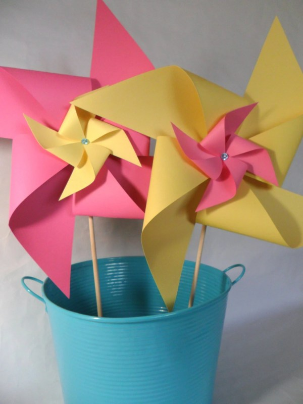Pinwheels In Double Layer X-large Yard Size