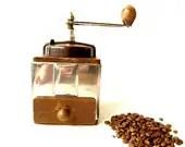 Vintage French Peugeot coffee grinder . - CabArtVintage