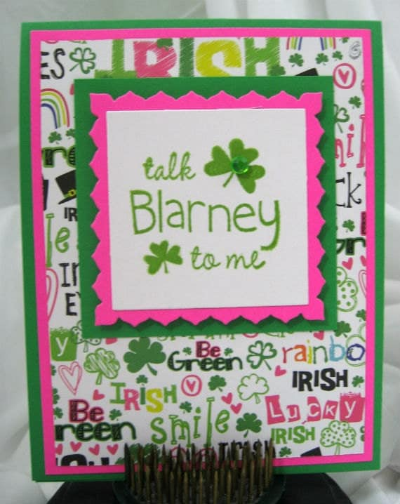 Talk Blarney to Me Card