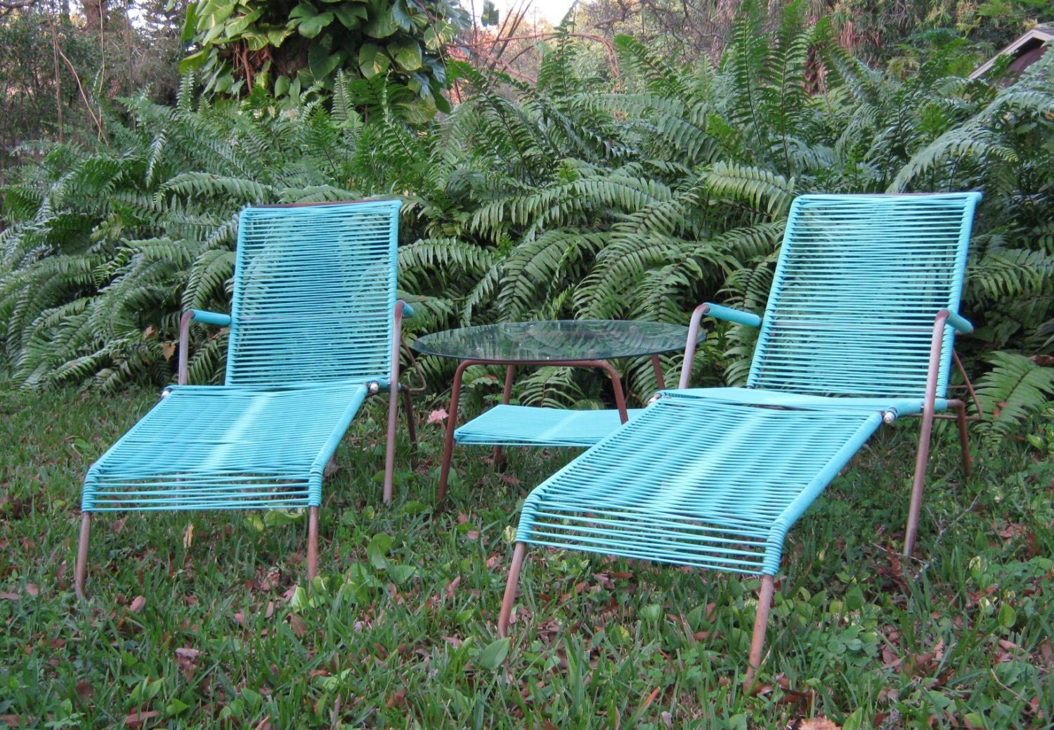 turquoise patio chairs tiffany blue chair covers for sale amazing brady bunch era lawn furniture brilliant