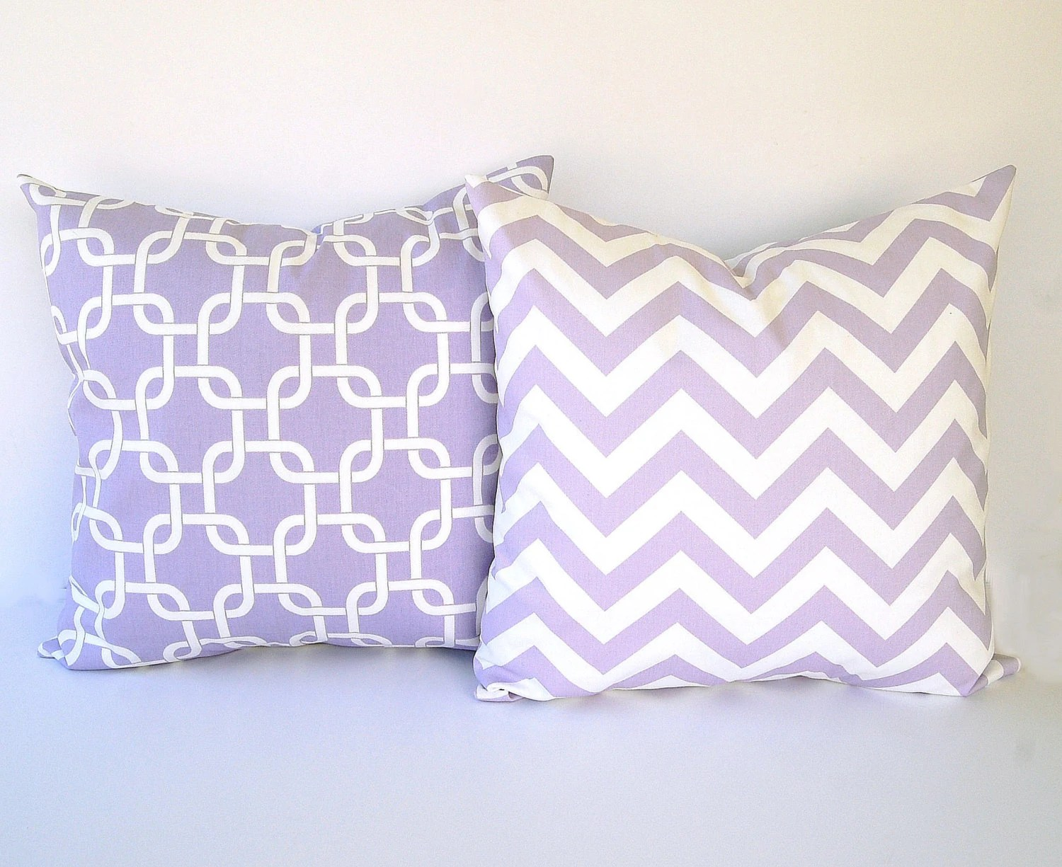 Lavender Throw Pillow Covers Set Of Two 20 X 20 By