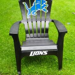 Soccer Team Chairs Beach Detroit Lions