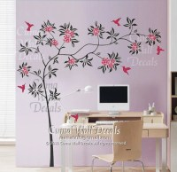 tree wall decal birds wall decals office wall mural by cuma