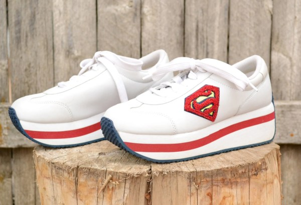 Reserved Supergirl Shoes Buster Brown Platform Sneakers Size