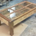 Items similar to hand made shadow box coffee table from reclaimed