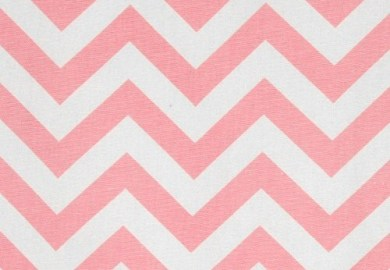 Baby Pink Chevron Curtains
