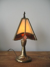 Vintage Leviton Stained Glass Lamp by EclecticVintageGirl ...