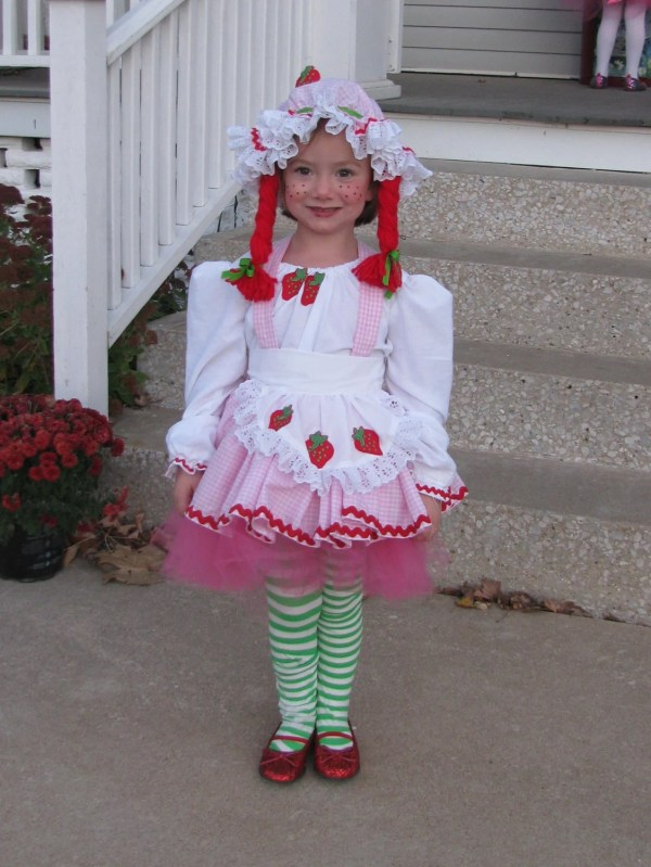 Custom Strawberry Shortcake Tutu Costume Misstops