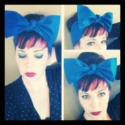 items similar royal blue headwrap
