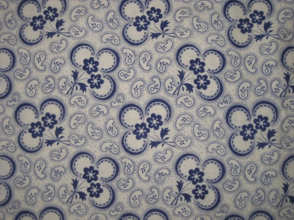 Vintage French Art Deco Fabric