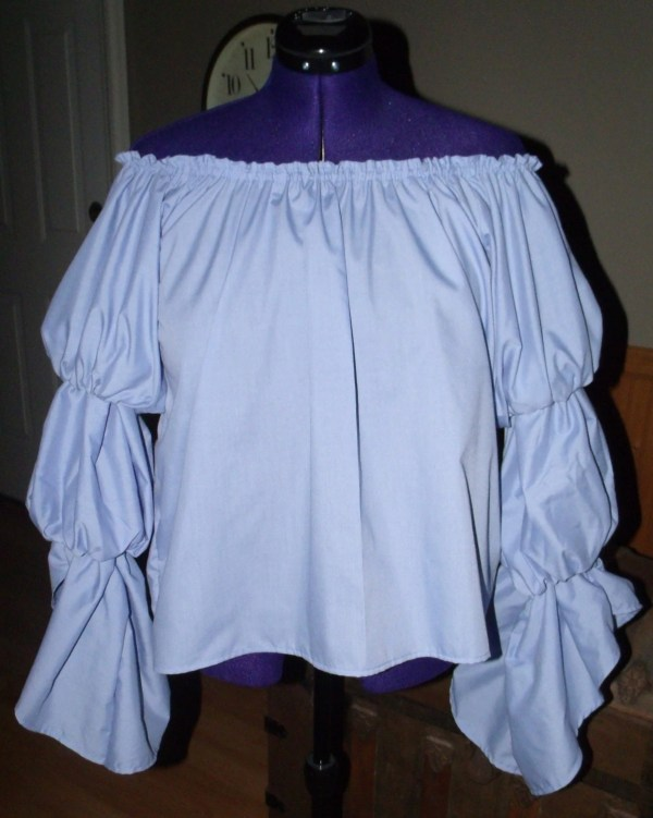 Pirate Wench Gypsy Renaissance Blouse Chemise