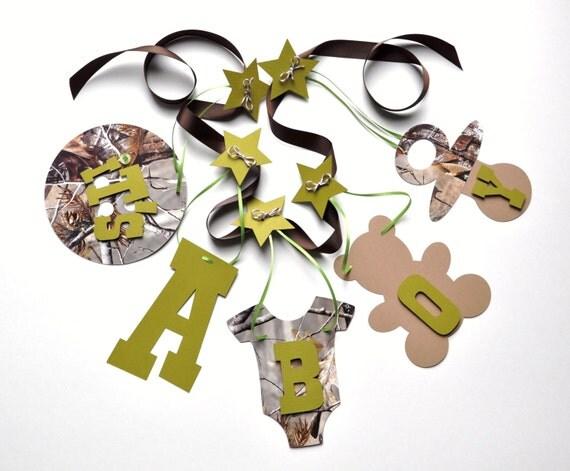 Camo Baby Shower Decorating Ideas