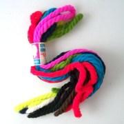 vintage yarn hair ties string alongs