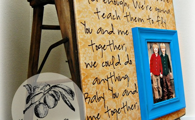 Fathers Day Photo Frame Fathers Day Gift Gift Personalized