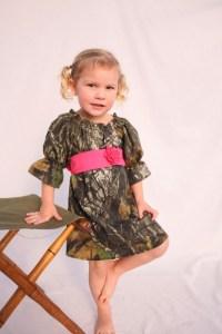 Camo dress Baby girl Camo Wedding Flower girl dress by ...