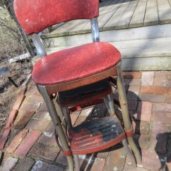 Vintage Cosco Step Stool Chair Mac Motion Chairs Chair.