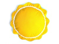 Sun Pillow Bright by CecilClyde on Etsy