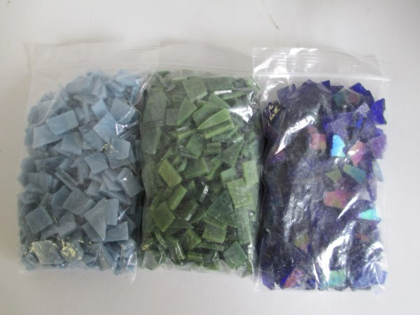Stained Glass Mosaic Pre Cut Pieces 2.3 Thefeathermerchant