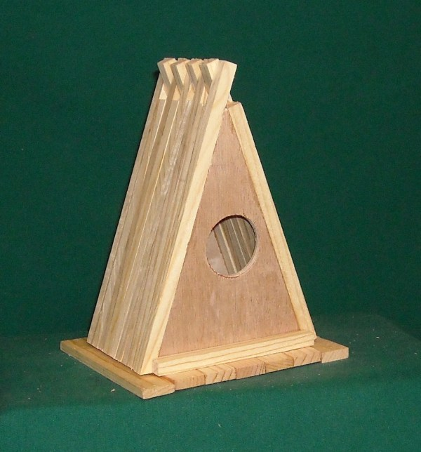 Frame Bird House Kit