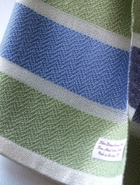 Baby Blanket Hand-Woven Acrylic/Bamboo and by ...