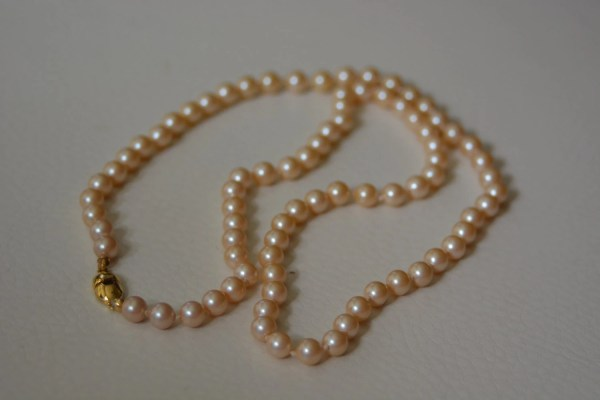 Collectible 24 5mm Monet Pearl Necklace Poshusagishop