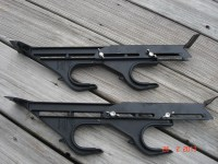 Vintage Set Of Truck Gun Or Fishing Rod Racks From The