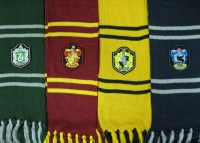 Harry Potter scarf 1.5m length Hogwarts Houses inspired scarf