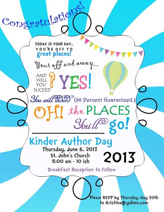 Places Print Invitations