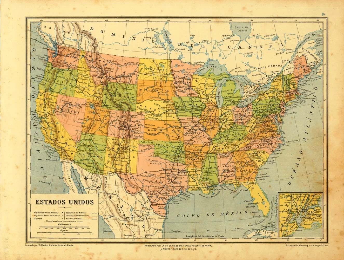 City Borders Map Oklahoma