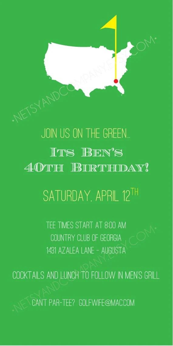 Items Similar To Golf Green Birthday Argyle Adult Children