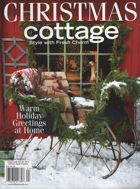 Christmas Cottage 2012 Magazine Hoffman Media Destash
