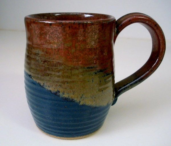 Stoneware Pottery Coffee Mug 16 oz