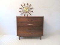 Mid Century Modern Chest of Drawers Bassett Furniture Chest