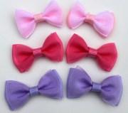 hair bow appliques making