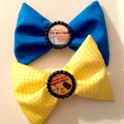 vintage disneyland hair bows