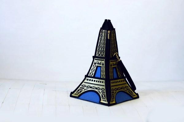 Eiffel Tower Bag Krukrustudio