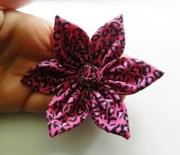 pink leopard cheetah print fabric