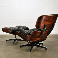 Tall Swivel Chair Mobility Accessories Early Eames Lounge Rosewood And Black Leather Herman