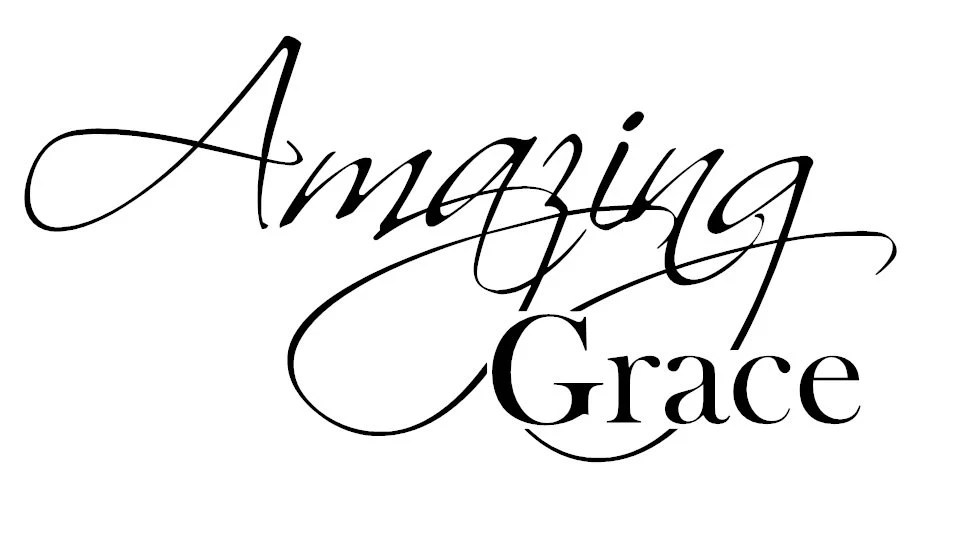 Church Decal Amazing Grace Bible Verse Vinyl Decal by