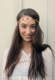 headband aztec tribal hair band
