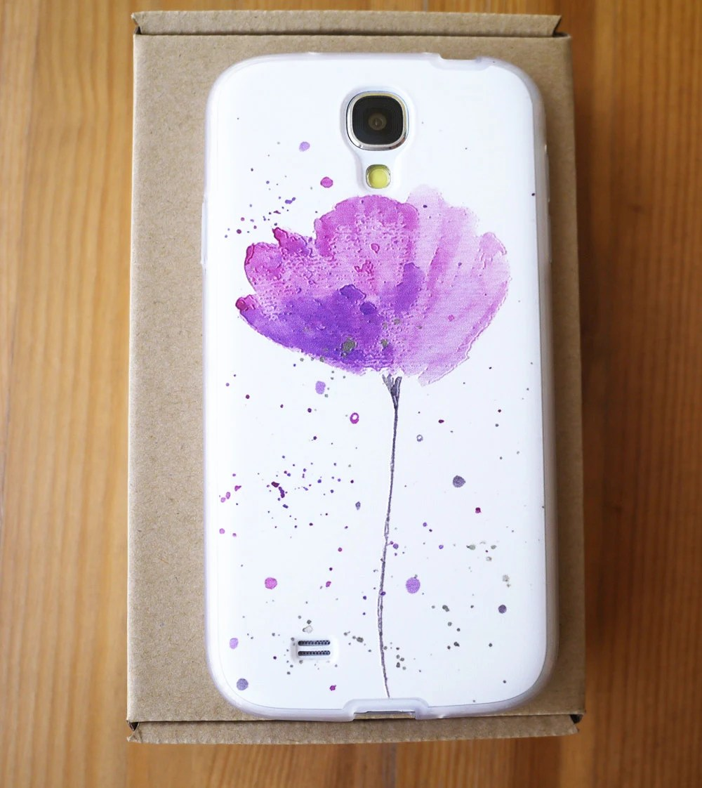 samsung galaxy s4 case galaxy s4 case samsung s4 case Art cute unique and best embossment the tulip samsung galaxy s4 case