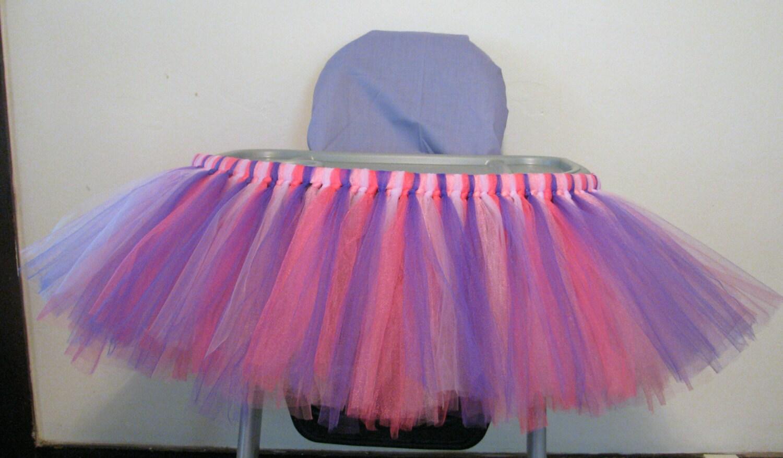 high chair tutu youtube yoga highchair skirt doc mcstuffins by