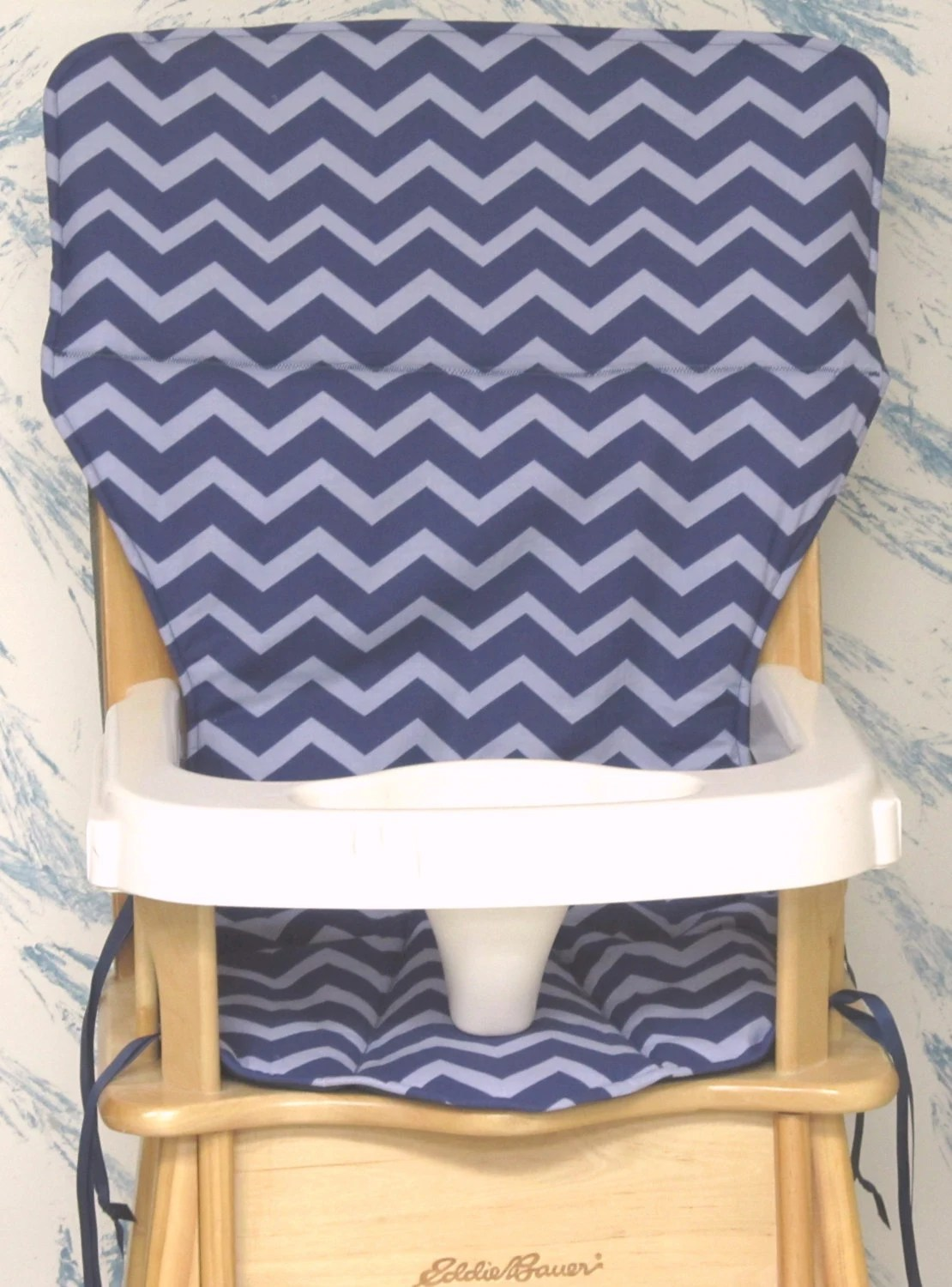 eddie bauer high chair pad replacement cover zigzagtone on