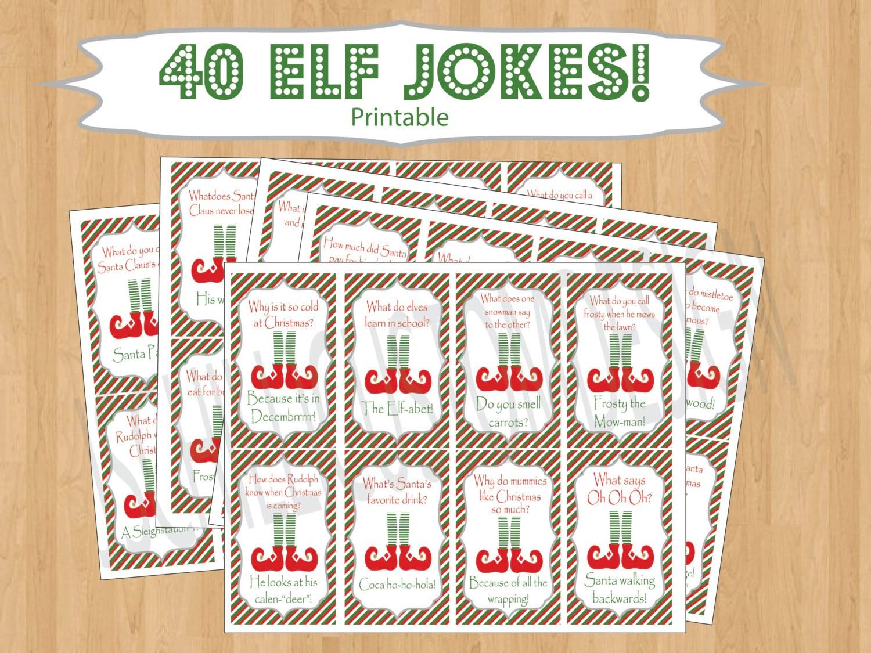 Printable Shelf Elf Inspired Jokes Amp By Jschillicustomdesign