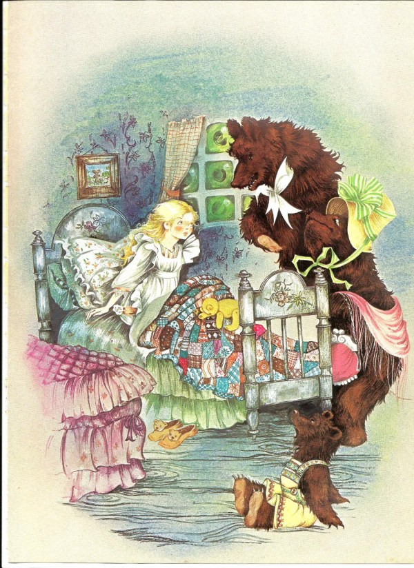 Vintage Fairy Tale Illustration Art