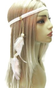 hey jude hippie headband lace