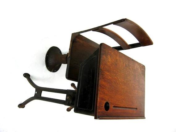 Antique School Desk Child's Desk With Separate Chair
